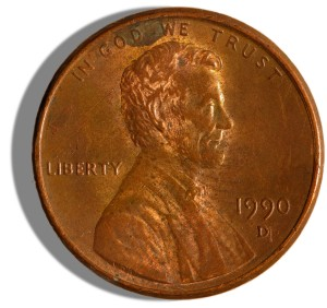 zinc penny