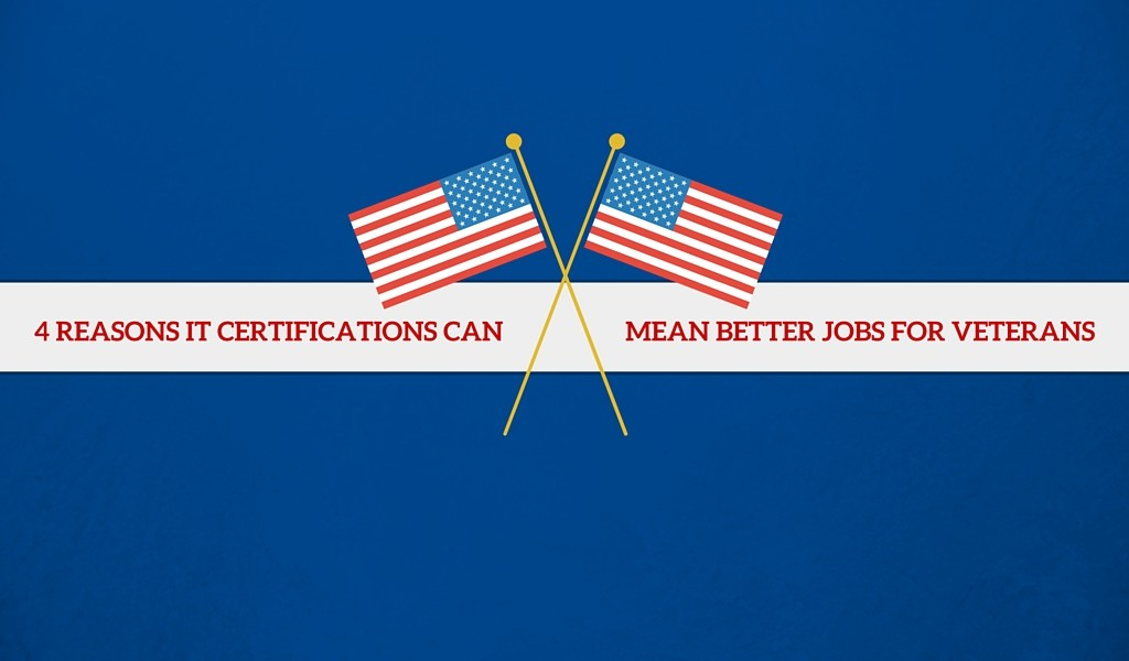 IT Certifications Can Mean Better Jobs for Veterans