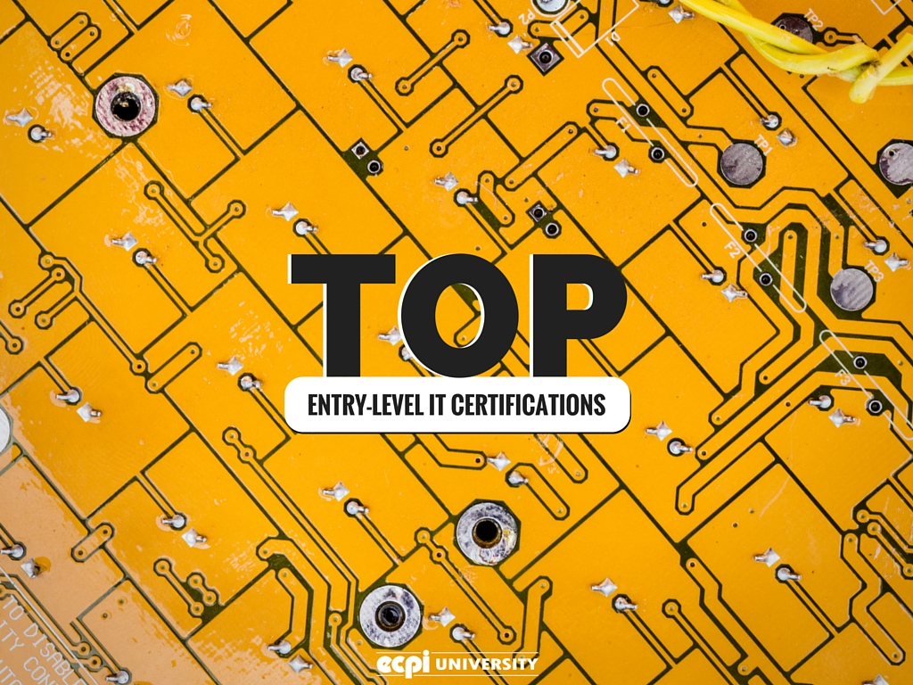 top entry-level it certifications