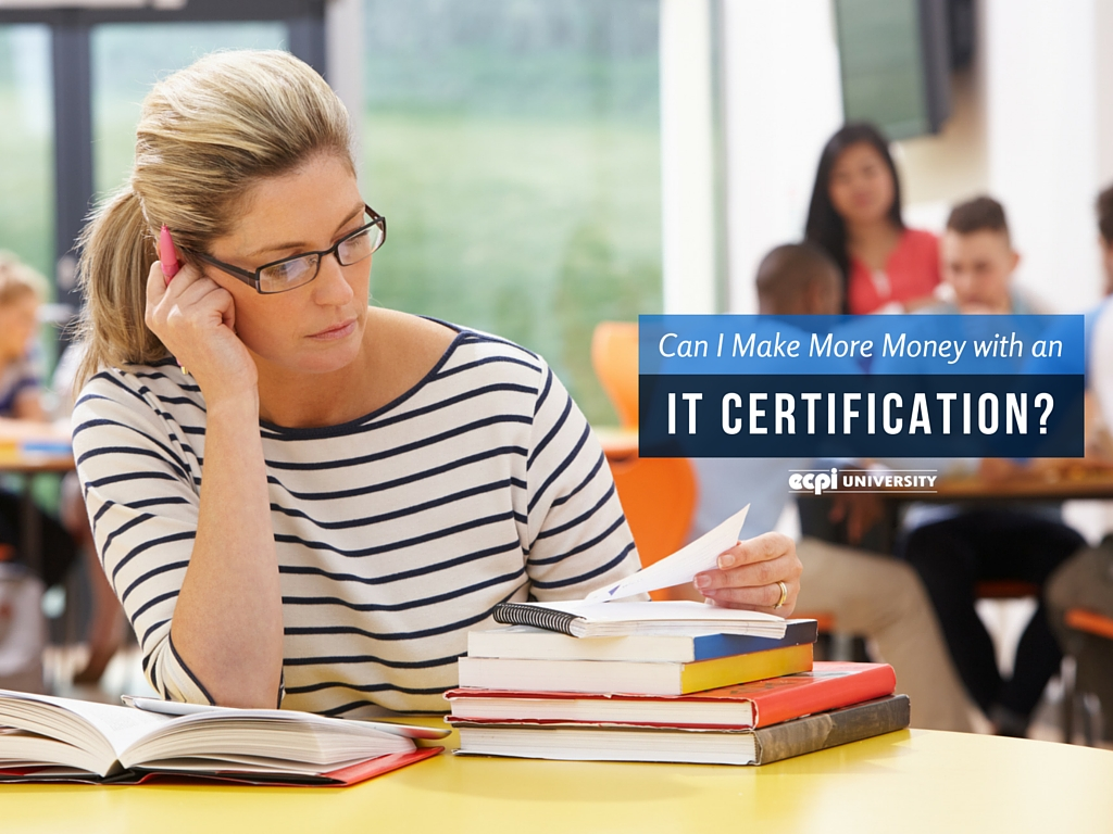 can i make more money with an it certification